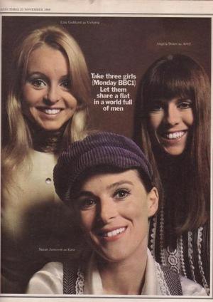Серіал «Take Three Girls» (1969 – 1971)