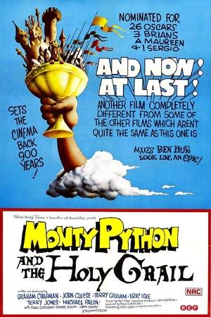 Фільм «Монтi Пайтон i Священний Грааль» (1975)