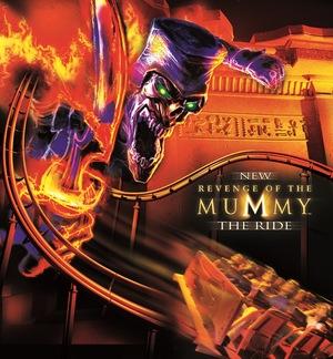 Фильм «Revenge of the Mummy: The Ride» (2004)