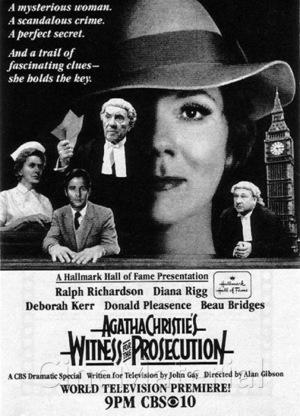 Фільм «Свідок обвинувачення» (1982)