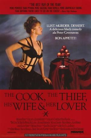 Фільм «Кухар, злодій, його жінка і її коханець» (1989)