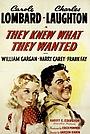 Фільм «Они знали, что хотели» (1940)