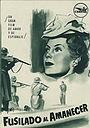 Фільм «Fusillé à l'aube» (1950)